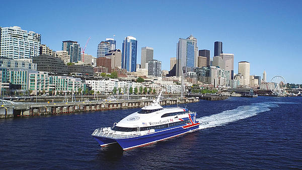 HSC Victoria Clipper IV ferry in Vancouver.