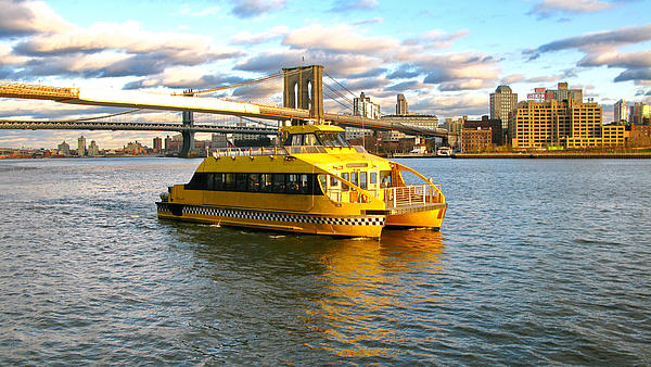 Wassertaxi in New York City
